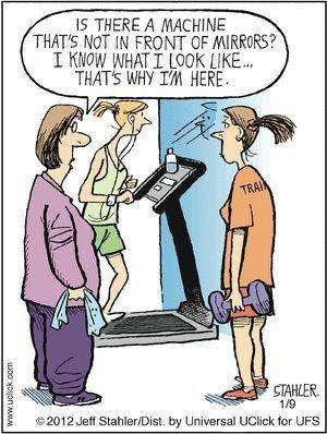 Treadmill Joke