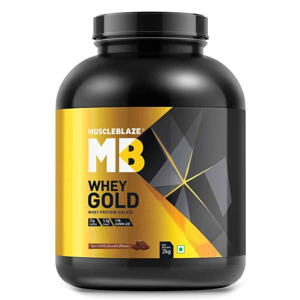 MuscleBlaze Whey Gold 100 Isolate