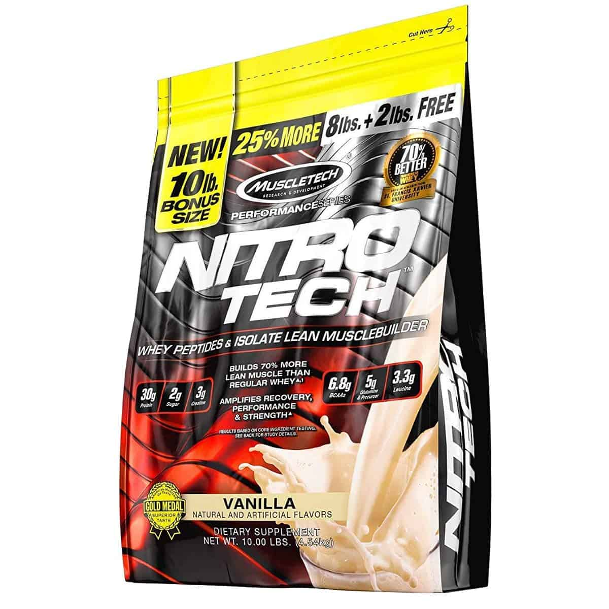 Muscletech Performance Series Nitrotech Isolate