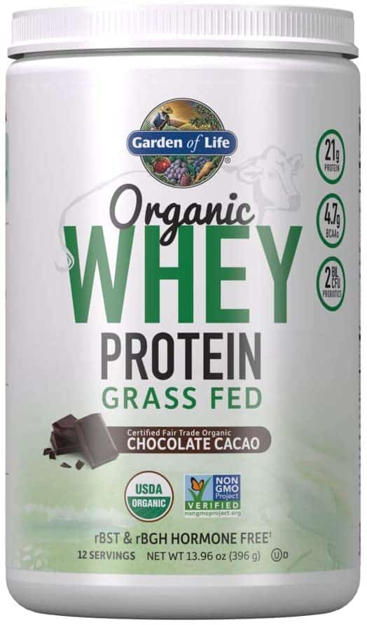 Garden of Life Organic Grass Fed Whey