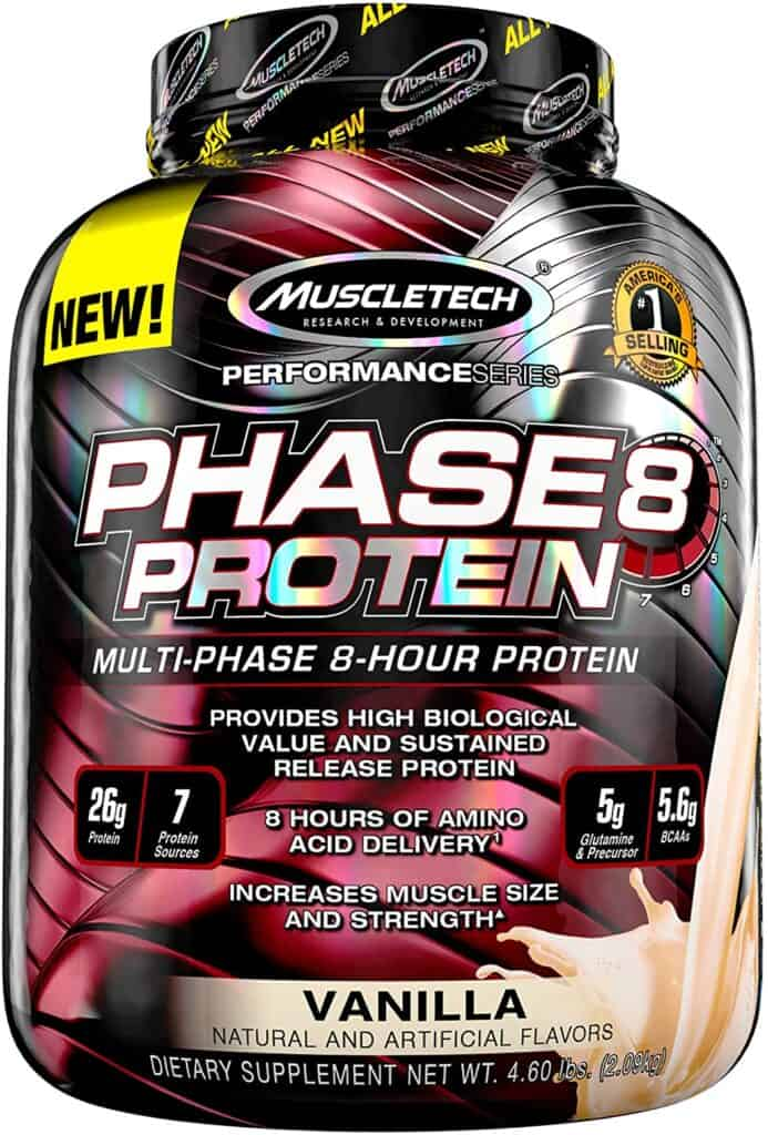 Muscletech Phase8 Whey Casein Protein