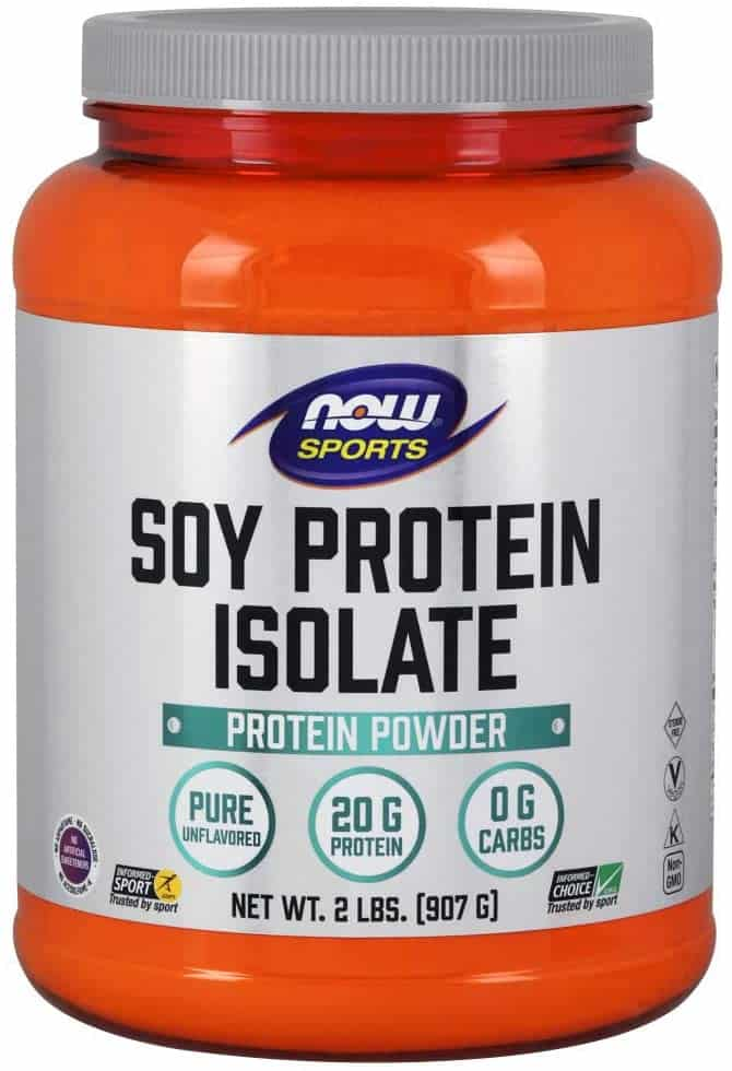 NOW Sports Nutrition Soy Protein Isolate
