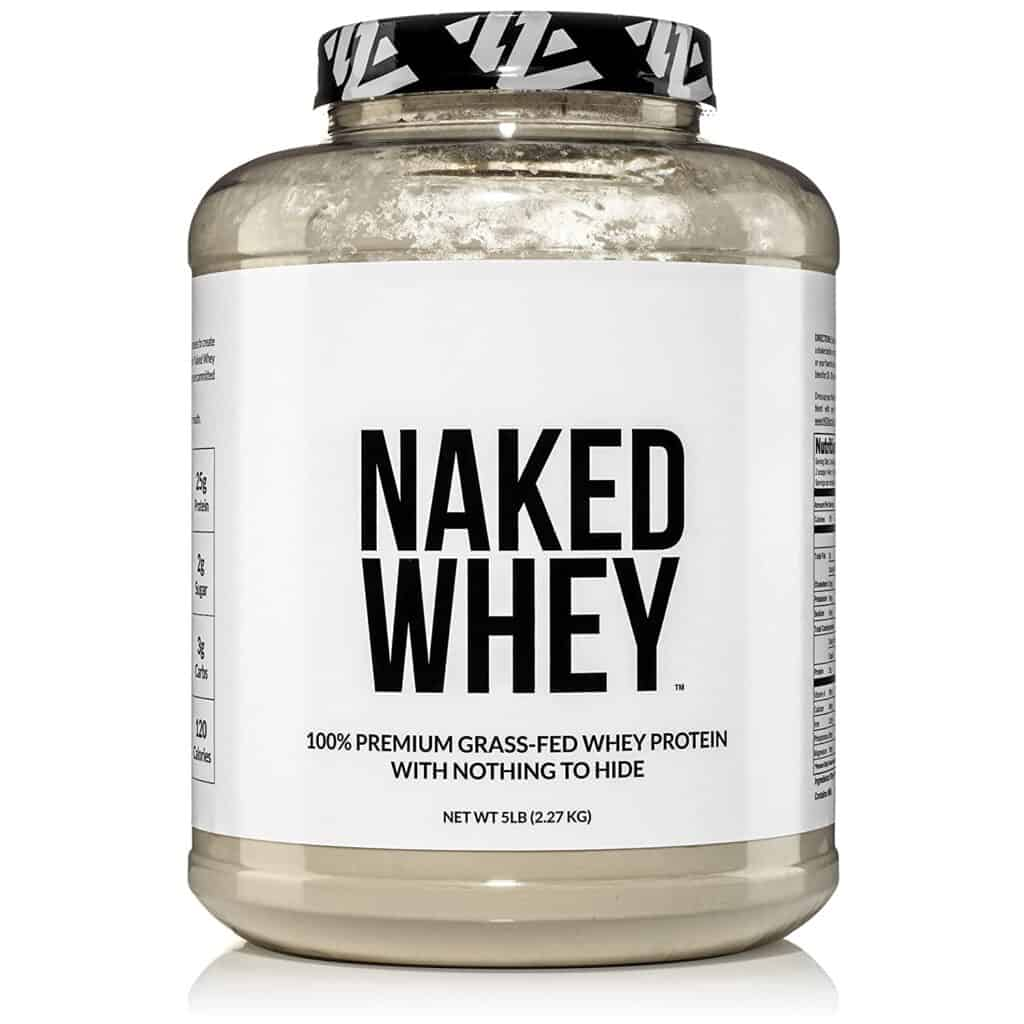 Naked Whey Grass Fed Unflavored