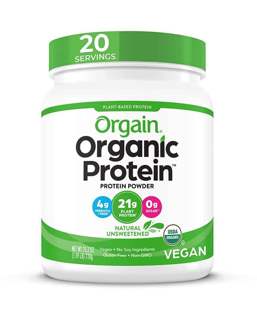 Orgain Organic Unflavored Protein