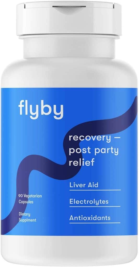 Flyby Party Recovery & Prevention Pills