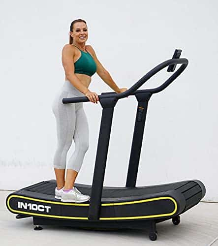 IN10CT Curved Treadmill