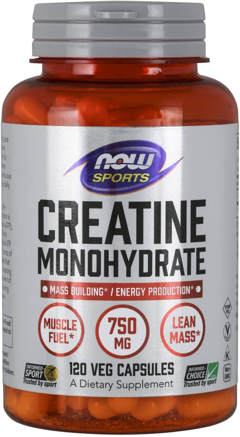 NOW Sports Nutrition, Creatine Monohydrate
